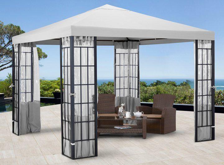Pavillon »Aluminium«, in 2 Größen