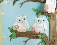 'Owl Wedding Cake' (Bridesmaids)