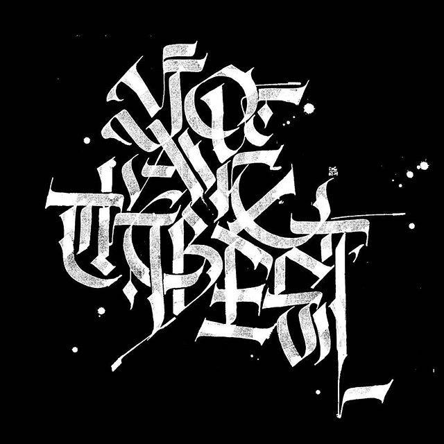 You are the best    #thedailytype #thedesigntip #type #lettering #goodtype #graphicdesign #typography #letters #handwritten #handtype #handdrawntype #art #design #типографика #леттеринг #буквы #calligritype #prettycalligraphy #calligraphy  #thefinelab  #typegang #designinsparation #typematters #ligaturecollective #50words#letteringco #art #design  #handmadefont