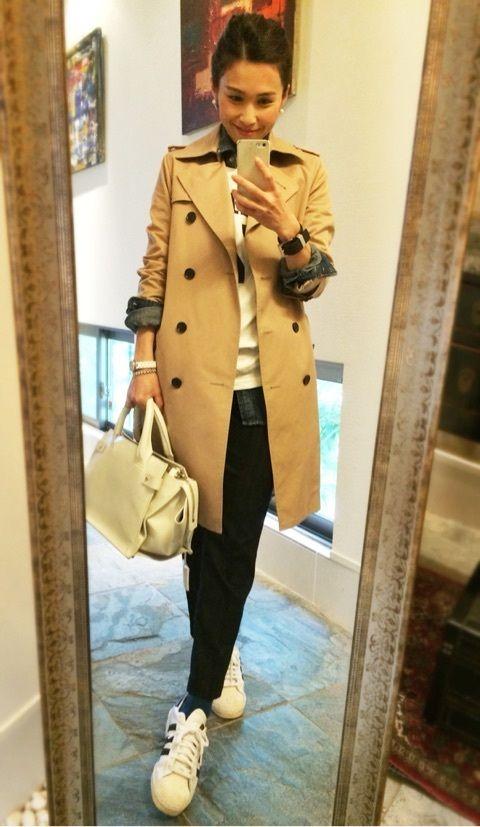 「 トレンチコート着まわし画像です☻ 」の画像|hirokoのブログ|Ameba (アメーバ)