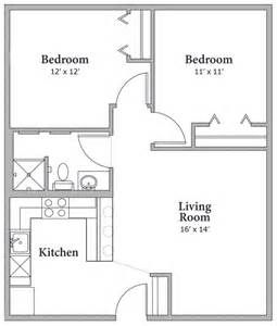 Image Result For 750 Square Foot House Plans 2 Bedroom Floor Plans 2 Bedroom House Plans House Plans