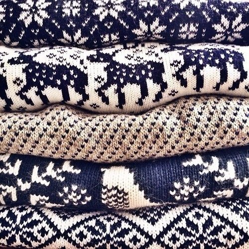 All the knits!! Cosy Cosy Cosy