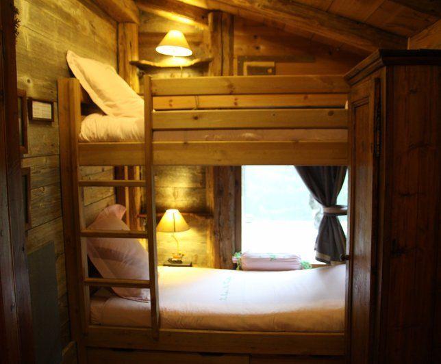 Photo Deco : Chambre Rustique Hotel Chalet De Phillipe