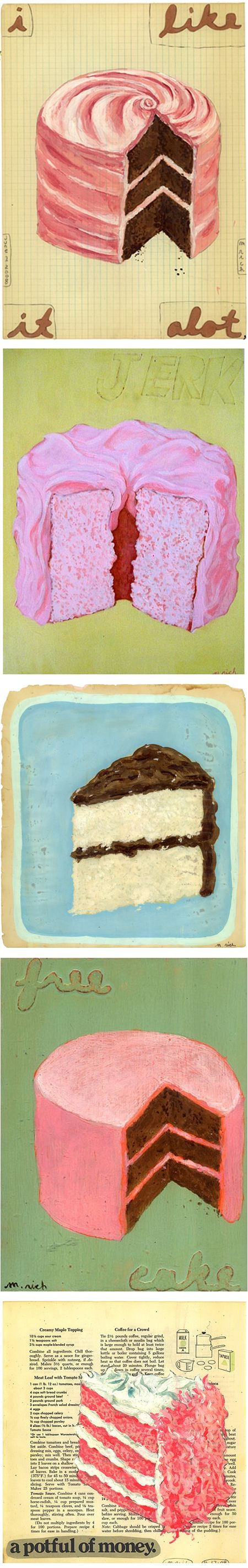 The Jealous Curator » Blog Archive » i'm jealous of martha rich's cake