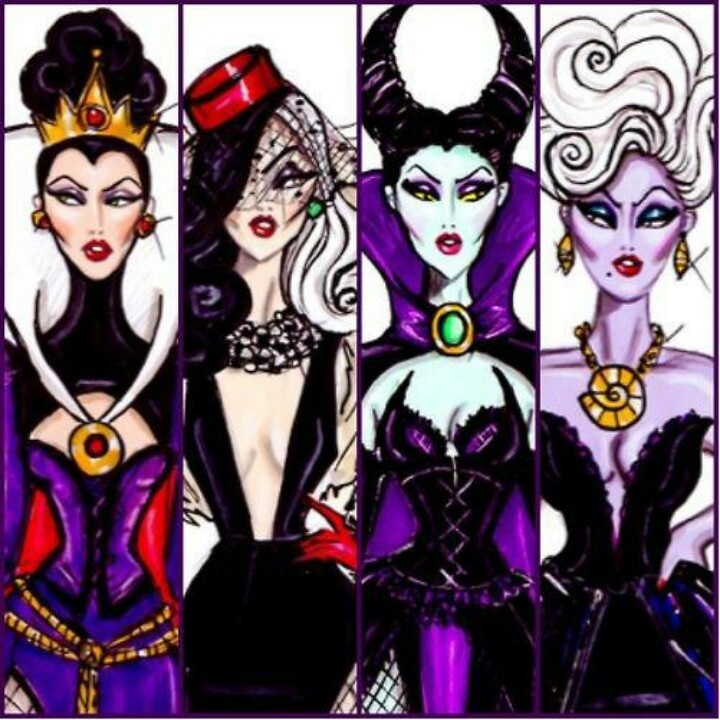 different take on disney villains. They are fabulous!!