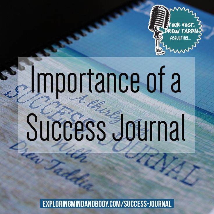 my top 10 tips on how a success journal can take your health to the next level