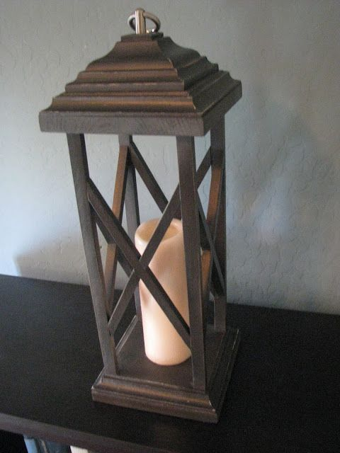 Rustic Wooden Lanterns