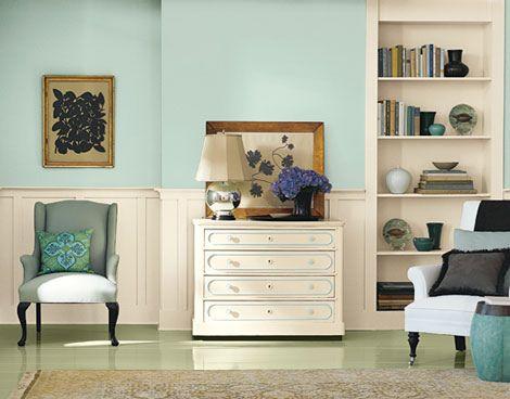 Blue Living Room Paint Colors Martha Stewart Vintage Map Walls Marth