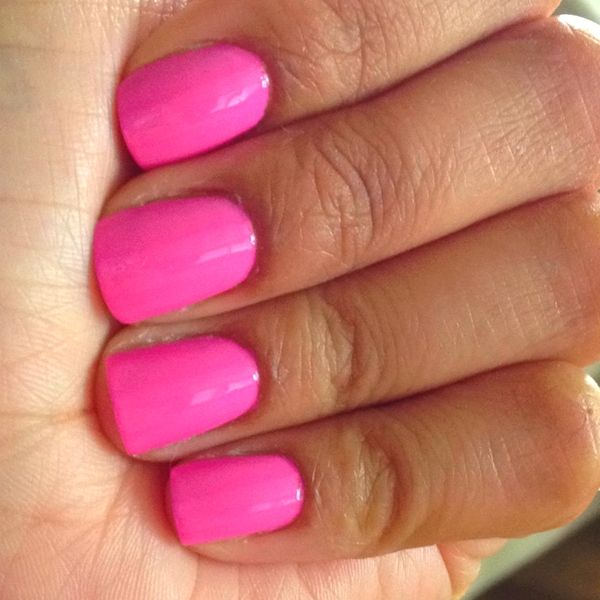 Bright Pink Nail Polish Colors: Pin By Shan 🌸 On Nail Art