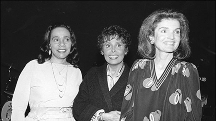 Lena Horne with Jackie Kennedy and Coretta Scott King at <i>Lena Horne…