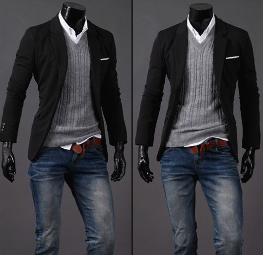 Best 25  Mens casual blazers ideas only on Pinterest | Classic ...