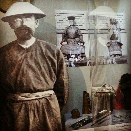 Den nya utställningen G.J.Ramstedt (diplomat/språkforskare) hittar man i EKTAs basutställning 22.5-30.8.2015. Uusi näyttely G.J.Ramstedt (diplomaatti/kielitutkija) löytyy EKTAn perusnäyttelyssä 22.5-30.8.2015.  One may find the new exhibition G.J.Ramstedt (ambassador/linguist) within the permanent exhibition at EKTA #ektamuseumcenter #ekenäs #tammisaari #museo #museum #Finland #Ramstedt #Japanrelations #Koreanrelations