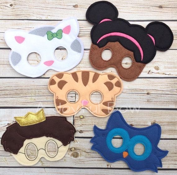 Daniel and friends dress up and birthday party favor masks, Daniel, Tiger Halloween,  Tiger Birthday