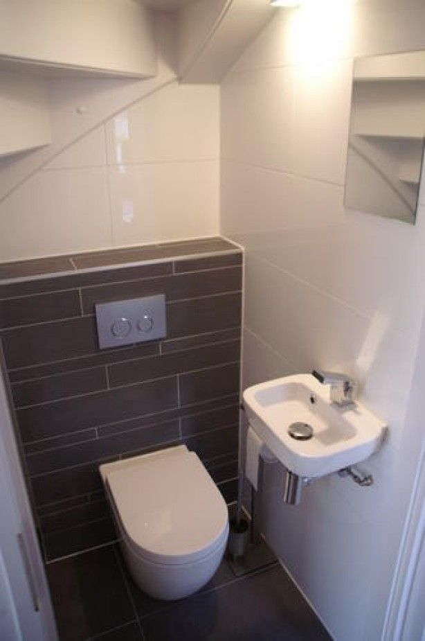 10 images about downstairs toilet on pinterest toilet for Tiny toilet ideas