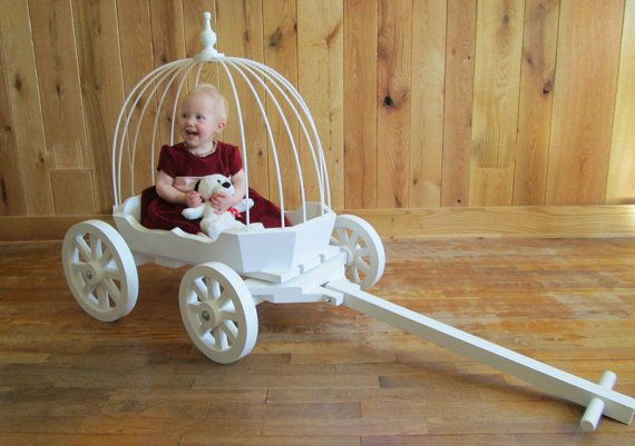 Infant Cinderella Carriage,  Wagon for Babies  Toddlers