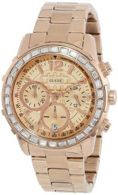 Relógio GUESS Women's U0016L5 Sport Chronograph Watch #Relogio #Guess