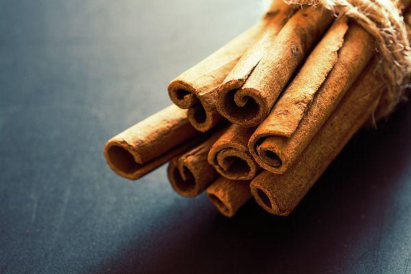 Cinnamon Sticks  Photograph by Nadezhda Tikhaia   #NadezhdaTikhaiaFineArtPhotography #ArtForHome #HomeDecor #Cinnamon #InteriorDesign #FineArtPrints