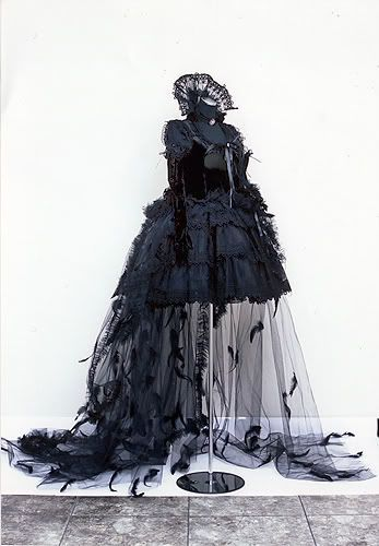 Nice Dresses With Feathers Gothic Lolita Dress... Check more at http://myshop.gq/fashion/dresses-with-feathers-gothic-lolita-dress/