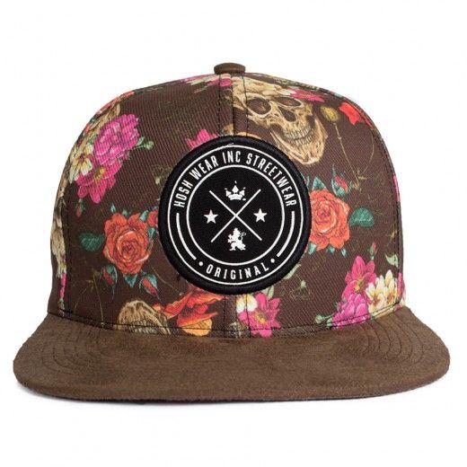 Boné Snapback Hosh Wear Blacky Flow Marrom - Dep Store - DEP Store - Bonés, Tênis, Vestuário e Acessórios