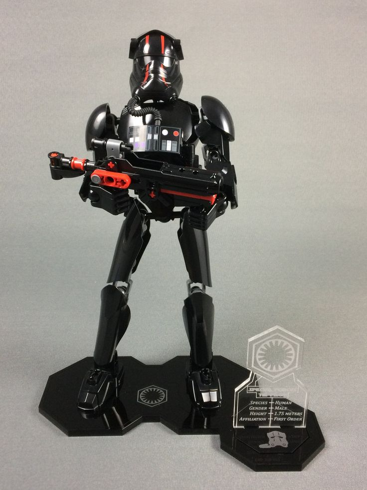 Our brand new Display product: Display stand for... check it out at http://www.wickedbrick.com/products/copy-of-display-stand-for-lego-star-wars-elite-tie-fighter-pilot-buildable-figure-75526?utm_campaign=social_autopilot&utm_source=pin&utm_medium=pin
