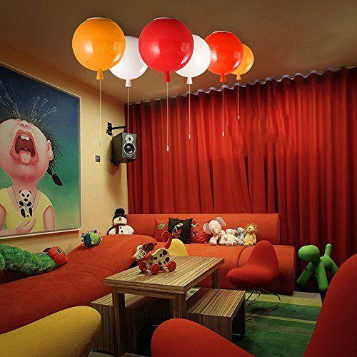 JJ moderna lampada da soffitto LED colorati luce palloncino luce da soffitto…