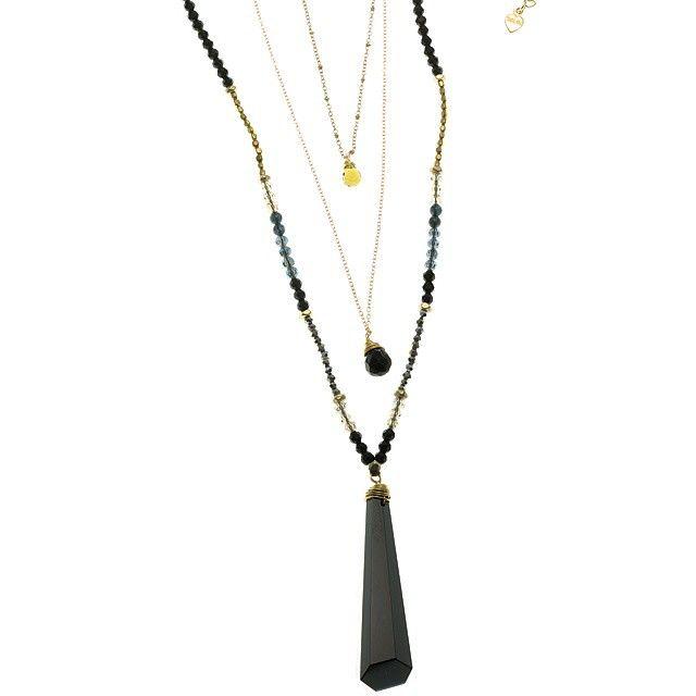 #beautifulnakamolnecklace #black #gold #layering #necklace #layeringnecklace #necklaces #necklacesofinstagram #merx #merxjewelry #merxjewellery @MerxInc #merx_inc
