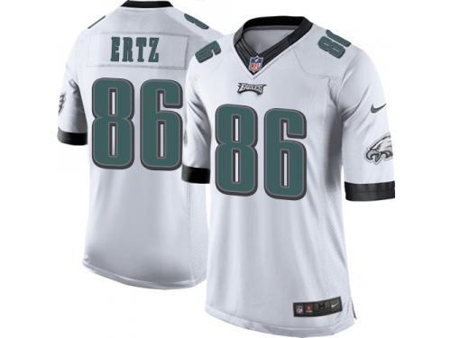 cheap for discount 541dd e077f Men Nike NFL Philadelphia Eagles #86 Zach Ertz Road White ...