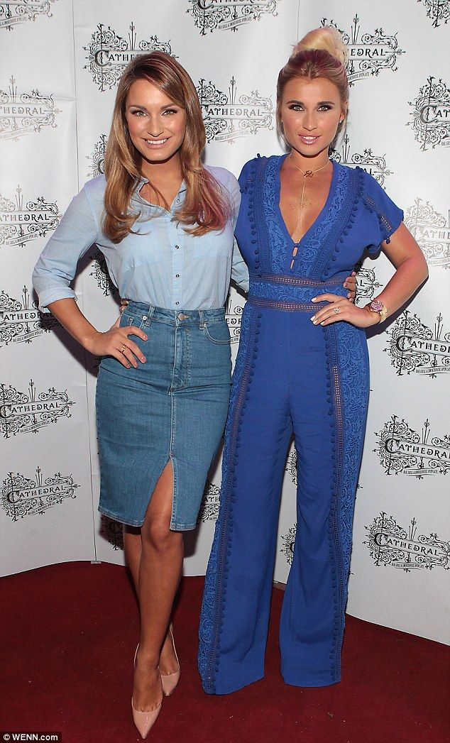 Billie and Sam were certainly putting on a united display of sisterly love as they attended a bar opening at Cathedral Bar and Restaurant in Dublin, Ireland, on Friday.