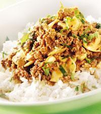 Kickis köttfärsröra med curry