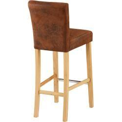 Bar-Set Bogart/Tom (70x115, 4 Stühle, hell geölt) Dänisches Bettenlager