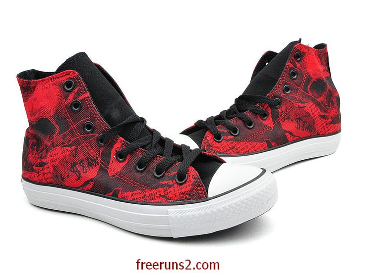 Cheap Shop Chuck Taylor All Star High 2013 Red Black White for Sale Online