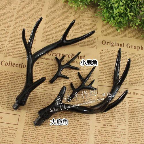 DIY ювелирных материалов моделирования оленьи головы Sen Отдел черный лес гирлянда оголовье свадьба фотографии реквизита - глобальная станция Taobao