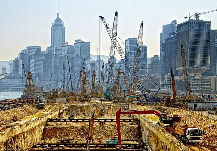 Hong Kong Hole, by photographer Stuart Chape: 'In East Asia, western style development is racing ahead of other projects'