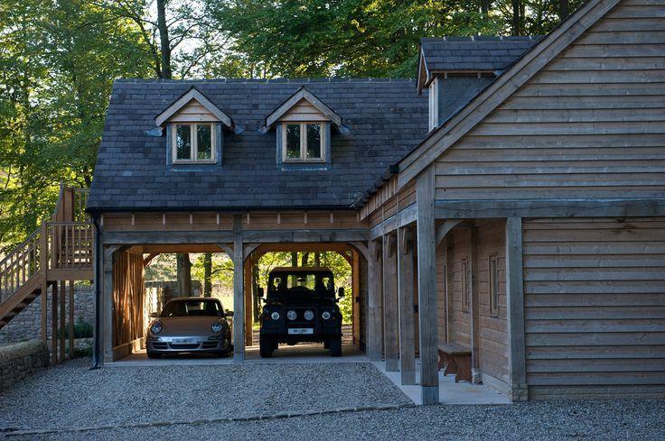 Oak Garage With Room Above images