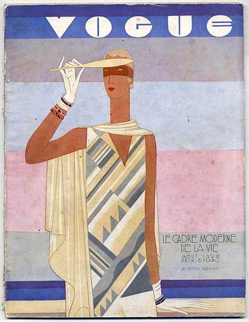 1929 deco girl #fashion #illustration