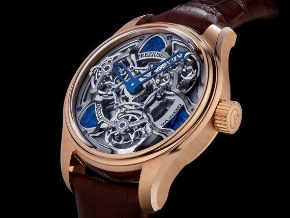 Antoine Preziuso Chronometer Tourbillon of Tourbillons - Meteorite - front