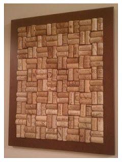 How to make a wine cork cork board!  www.muchadoaboutsomethin.blogspot.com