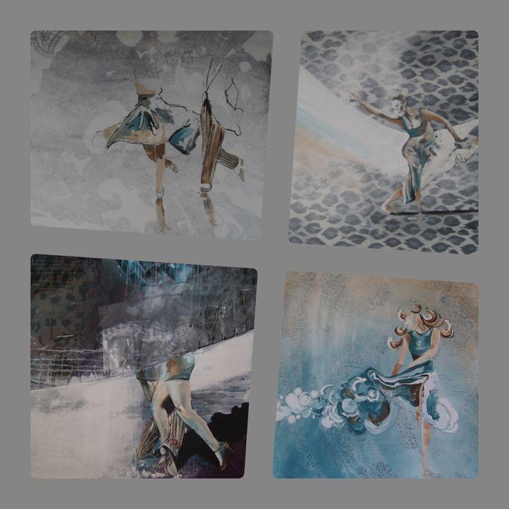 Die Entstehungeiner neuen Werkreihe Tanz …. Leben in Bewegung  Im ersten Arbeitsschritt werden Bleistiftskizzen erstellt, um die tanzenden Bewegungen festzuhalten und zu erfassen. Mehr…