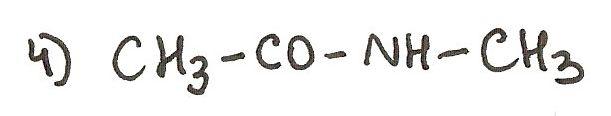 Ejercicio 4 de formulación orgánica. Nombra la siguiente amida.