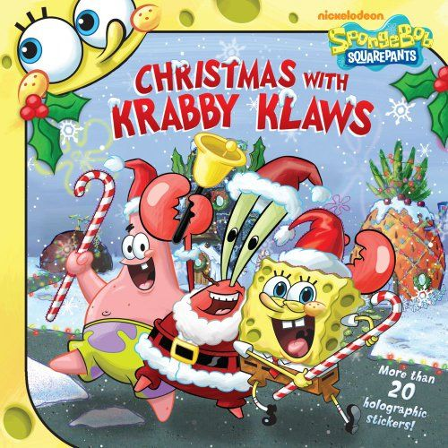 Christmas with Krabby Klaws (Spongebob Squarepants) @ niftywarehouse.com #NiftyWarehouse #Spongebob #SpongebobSquarepants #Cartoon #TV #Show