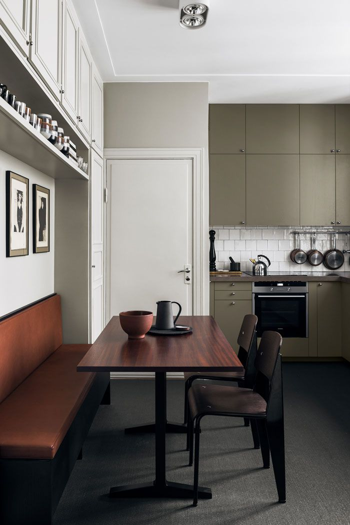 Kitchen. Home of interior designer Louise Liljencrantz