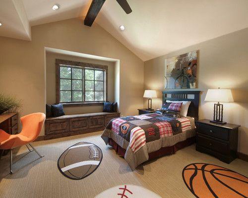 Cool Sport Teenage Bedroom Theme Ideas Sport Themes for Teenage Boys Bedroom Decorating