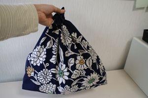 ルーツ風呂敷バッグの作り方