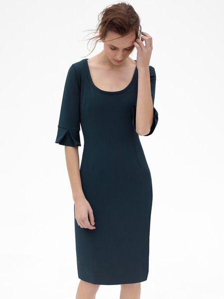 Elena (Green) #workwear #officefashion #dress