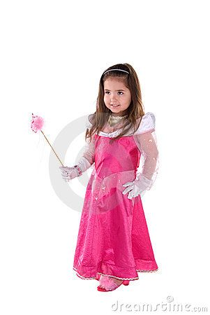Princess girl. by Sophie Davis, via Dreamstime