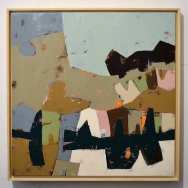 """Saatchi Art Artist Matteo Cassina; Painting, """"Beyond th wood"""" #art"""