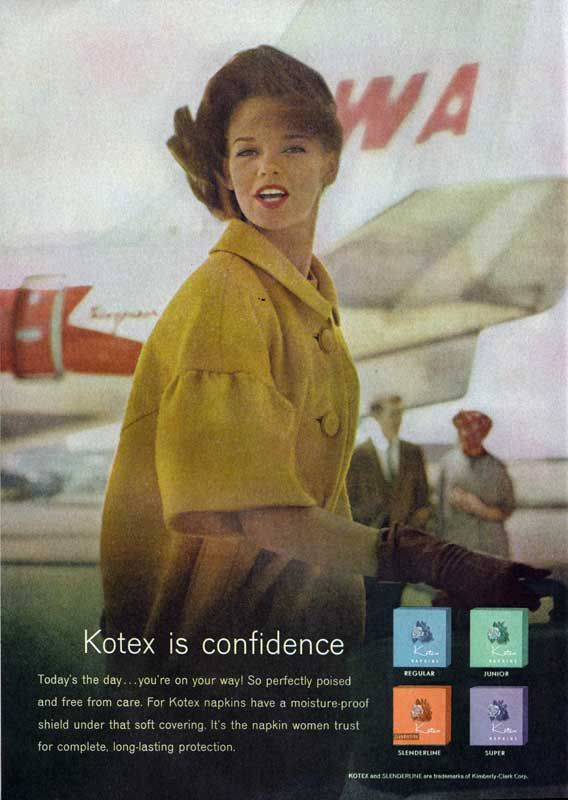 Kotex is Confidence