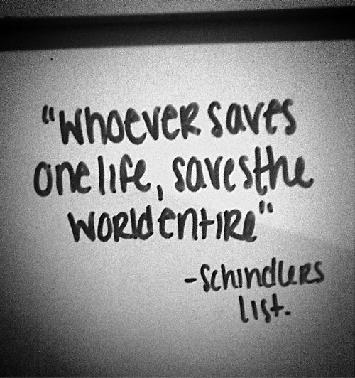 Schindler S List Quotes | Quote Addicts