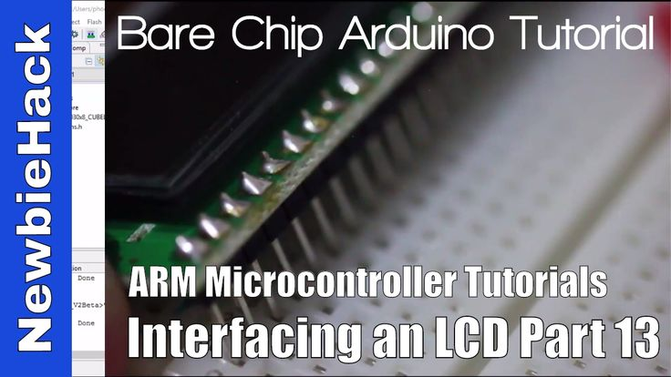 26. How to Interface an LCD to an ARM Microcontroller Tutorial - Part 13