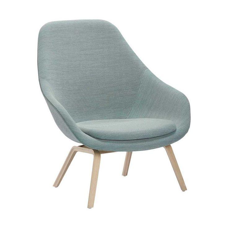 About a Lounge chair hoog - AAL93 met zitkussen